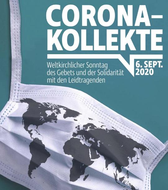 Die Kollekte am Sonntag der Solidarität, dem 6. September 2020, ist heuer für die Betroffenen der Corona-Pandemie bestimmt.