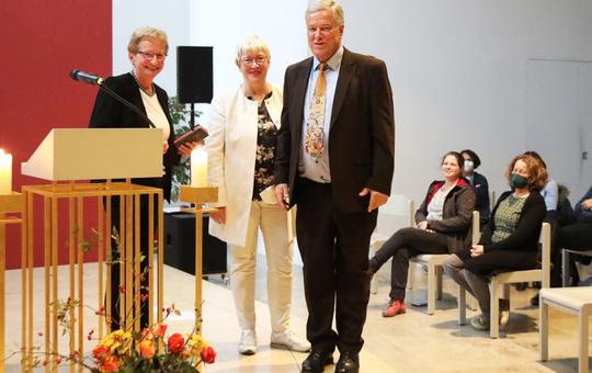 Helga Neudert, Helga Kiesel und Ulrich Geißler