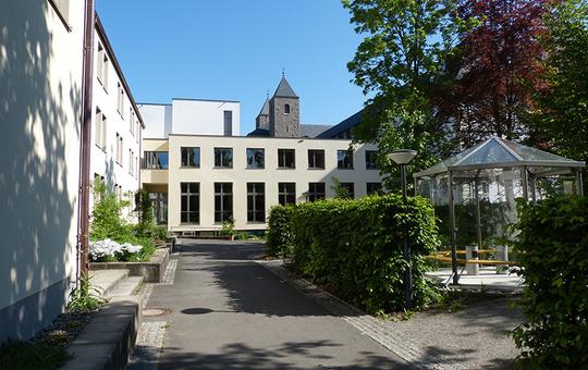 Gästehaus der Benediktinerabtei Münsterschwarzach
