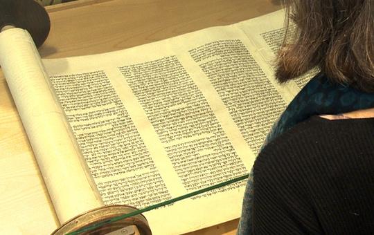 Tora im Museum des jüdischen Gemeindezentrums