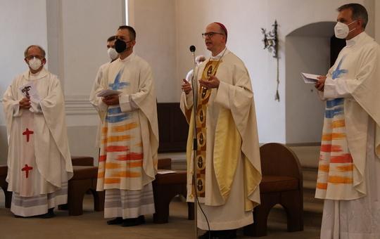 Verabschiedung der Regens im Priesterseminar.