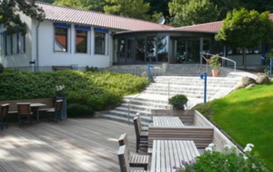 Seminarzentrum Rückersbach von außen