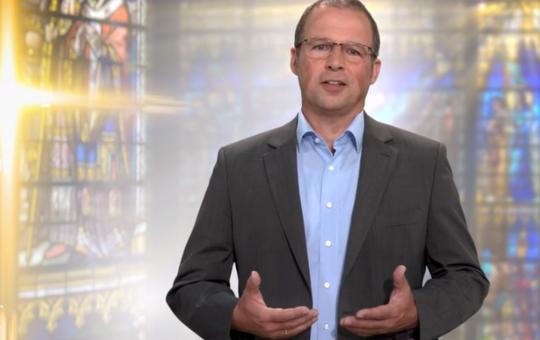 Diakon Manfred Müller bei bibel.TV.