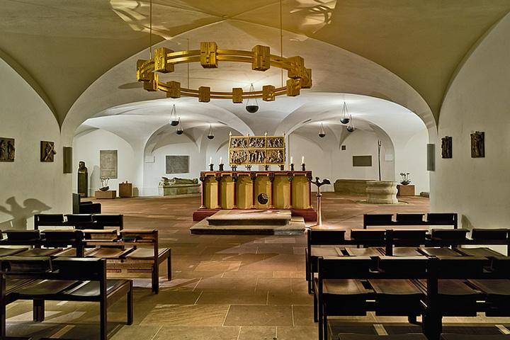 Die Kiliansgruft im Würzburger Neumüster.