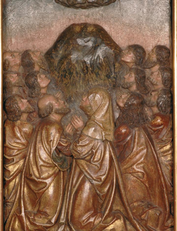 Darstellung der Himmelfahrt Christi in Gerolzhofen