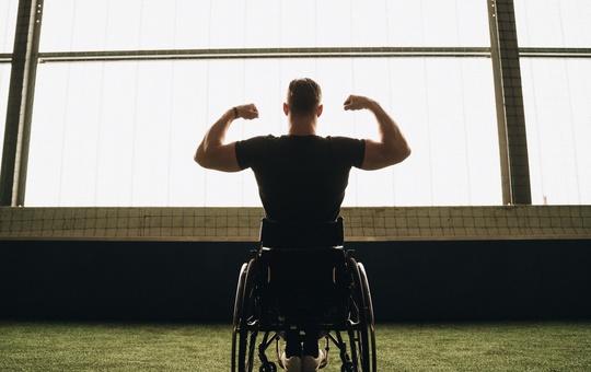Stark sein mit Rollstuhl