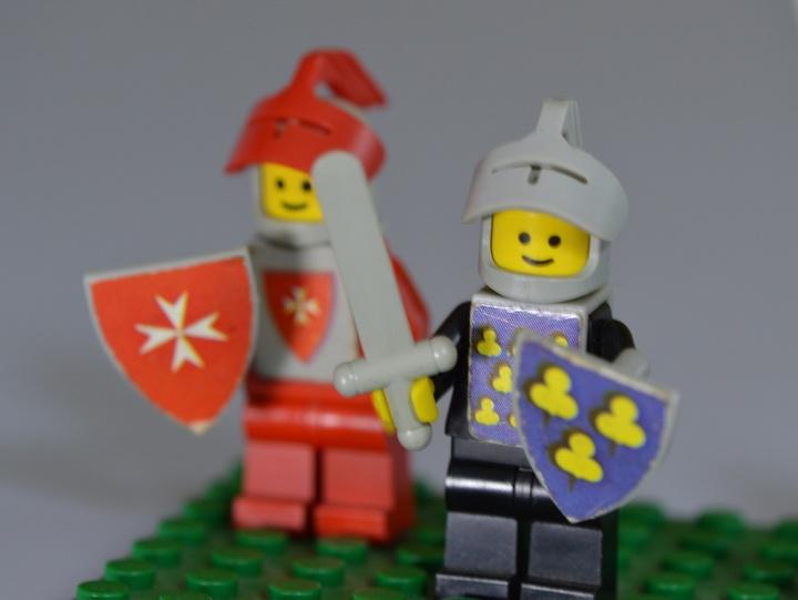 Ritter aus Lego