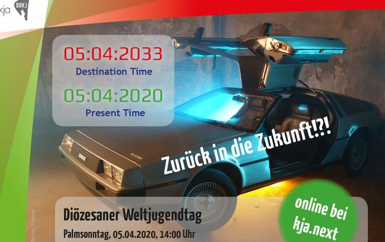 Plakat Diözesaner Weltjugendtag 2020