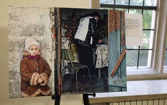 Fotoausstellung zur Ostukraine