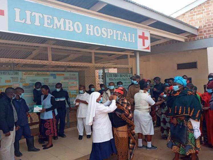 Krankenhaus Litembo dankt für Hilfe