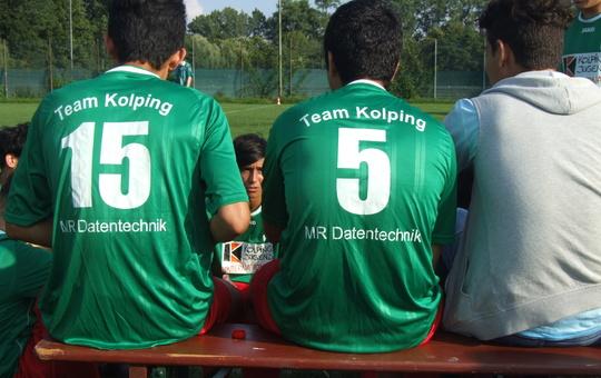 Fußballteam der Kolpingjugend