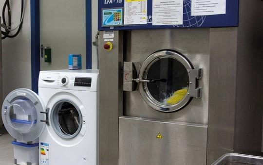 Waschmaschinen der Vinzenz Wäscherei