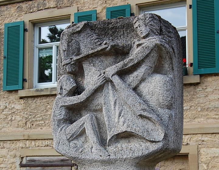 Bildstock in Burggrumbach