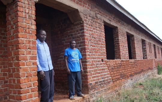 Bau-Fortschritt in Mkumbi nahe Mbinga
