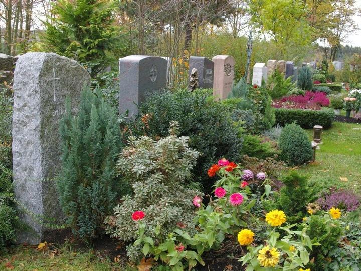Gräber zu Allerheiligen