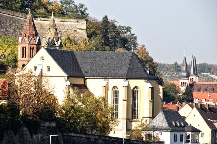 Kirche St. Burkard in Würzburg