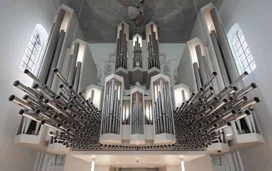 Die Klais-Orgel im Würzburger Kiliansdom