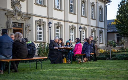 Weltmissionssonntag in der Abtei Münsterschwarzach