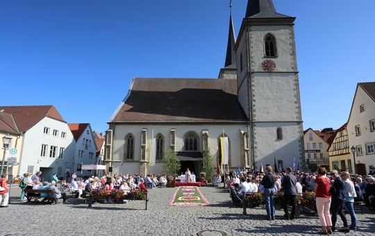 Außenansicht St. Kilian Haßfurt