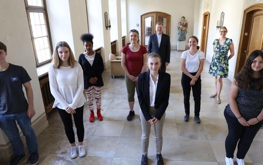 Neue Auszubildende im Bistum Würzburg