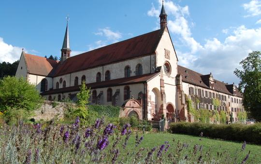 Aussenansicht Kloster Bronnbach