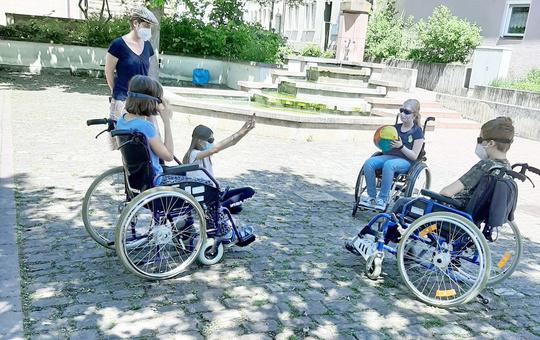 Alltag mit Behinderung testen