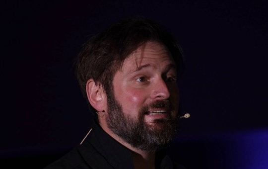 Schauspieler Kai Christian Moritz im Central Bräu